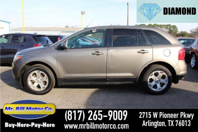 2013 GRAY Ford Edge SEL FWD (2FMDK3J94DB) with an 2.0L L4 DOHC 16V engine, 6-Speed Automatic transmission, located at 2715 W Pioneer Pkwy, Arlington, TX, 76013, (817) 265-9009, 32.710262, -97.153236 - Photo #0