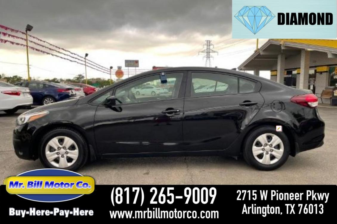 2018 Black Kia Forte LX 6A (3KPFK4A79JE) with an 2.0L L4 DOHC 16V engine, 6-Speed Automatic transmission, located at 2715 W Pioneer Pkwy, Arlington, TX, 76013, (817) 265-9009, 32.710262, -97.153236 - Photo #0