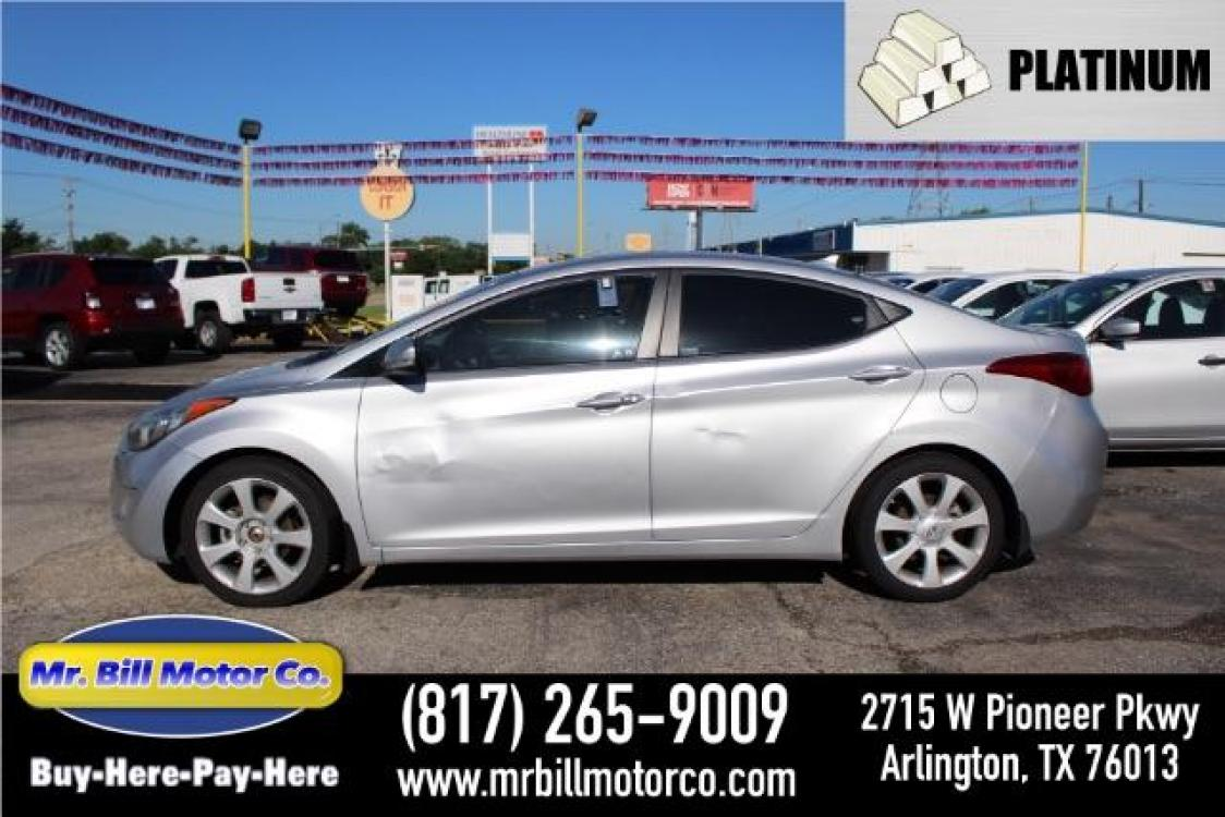 2013 Hyundai Elantra Limited (5NPDH4AE0DH) with an 1.8L L4 DOHC 16V engine, 6-Speed Automatic transmission, located at 2715 W Pioneer Pkwy, Arlington, TX, 76013, (817) 265-9009, 32.710262, -97.153236 - Photo #0
