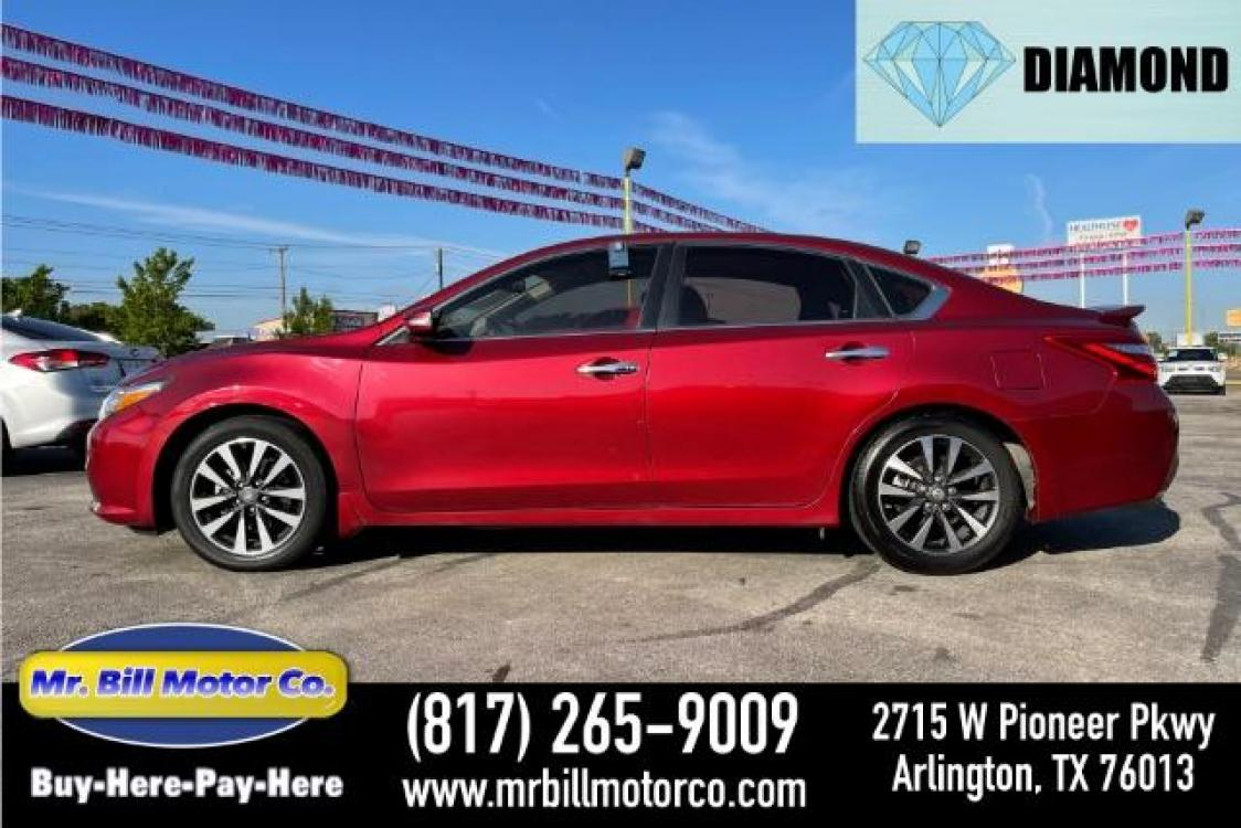 2016 Red Nissan Altima 2.5 SV (1N4AL3AP5GC) with an 2.5L L4 DOHC 16V engine, Continuously Variable Transmission transmission, located at 2715 W Pioneer Pkwy, Arlington, TX, 76013, (817) 265-9009, 32.710262, -97.153236 - Photo #0